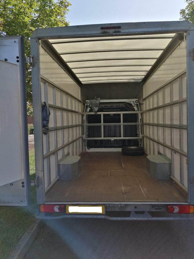 Big Van inside load space